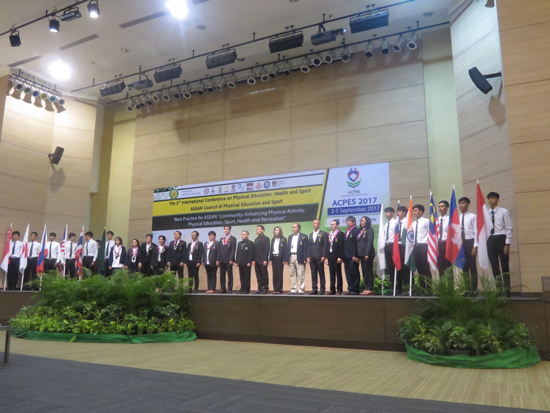 「The 3rd International Conference on Physical Education, Health and Sport」</br>における基調講演3