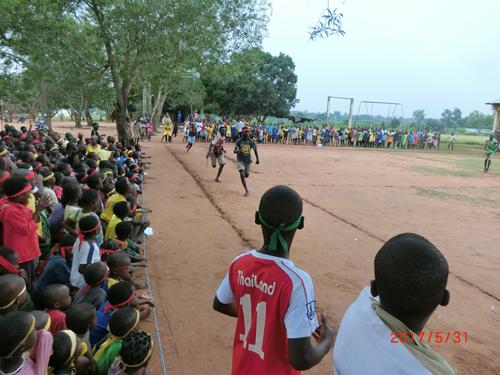 【青年海外協力隊活動レポート】西アフリカベナン共和国にて子ども達と初めての運動会1