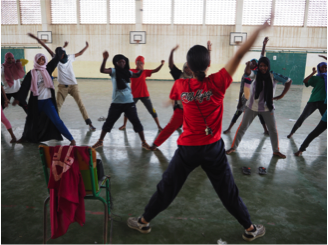 【青年海外協力隊活動レポート】世界一暑い国ジブチで日本舞い!1