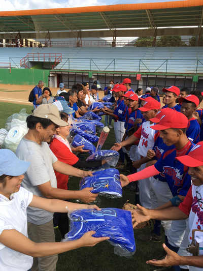 ピースボールプロジェクト、UPA国際協力プロジェクト(第94回ピースボート地球一周の船旅)4