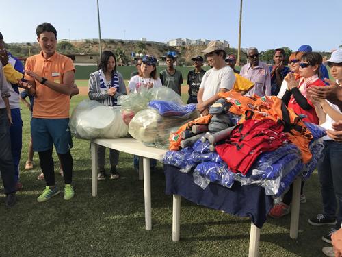 ピースボールプロジェクト、UPA国際協力プロジェクト(第94回ピースボート地球一周の船旅)3