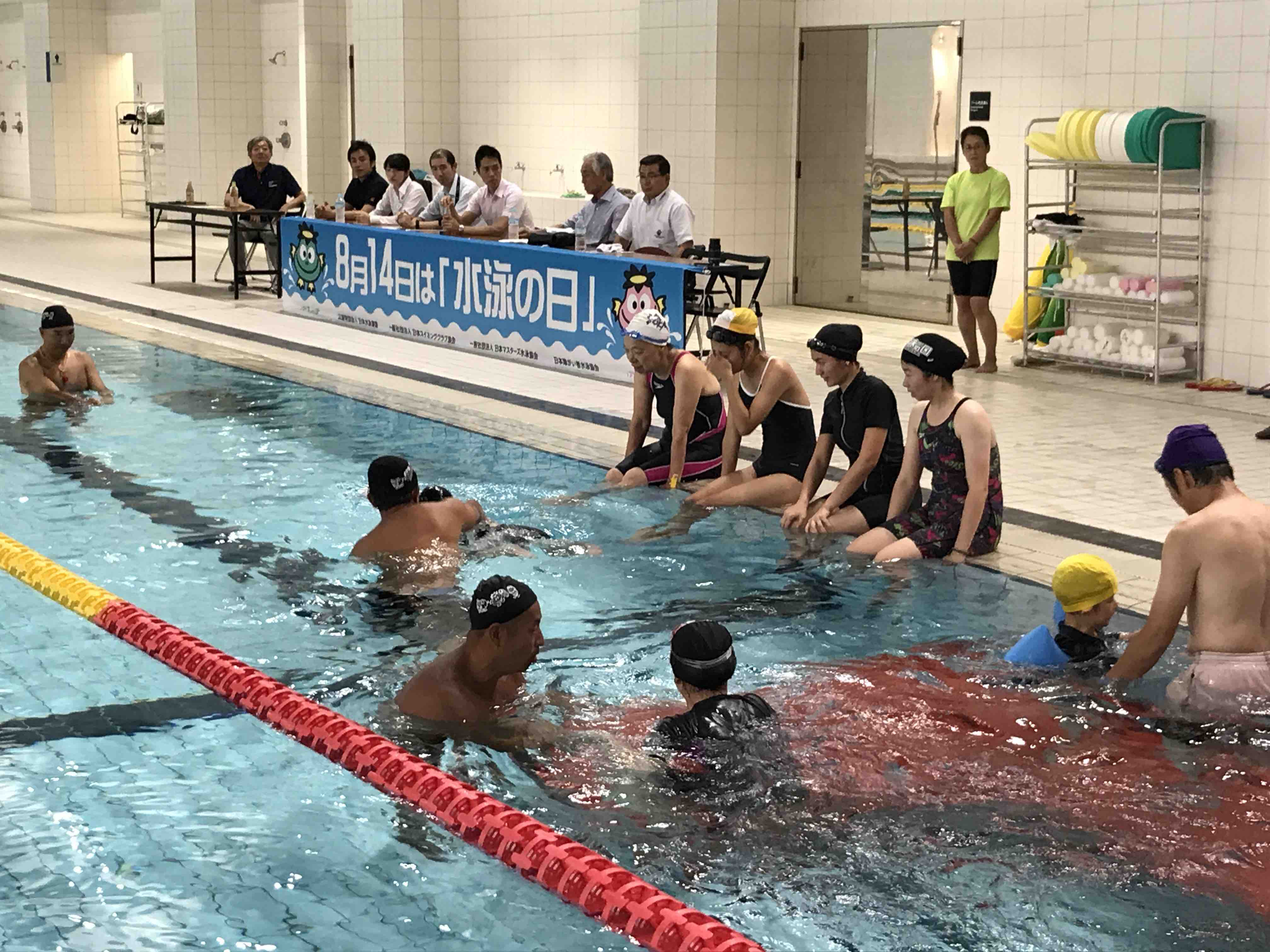 Swimming clinics for ASEAN countries3