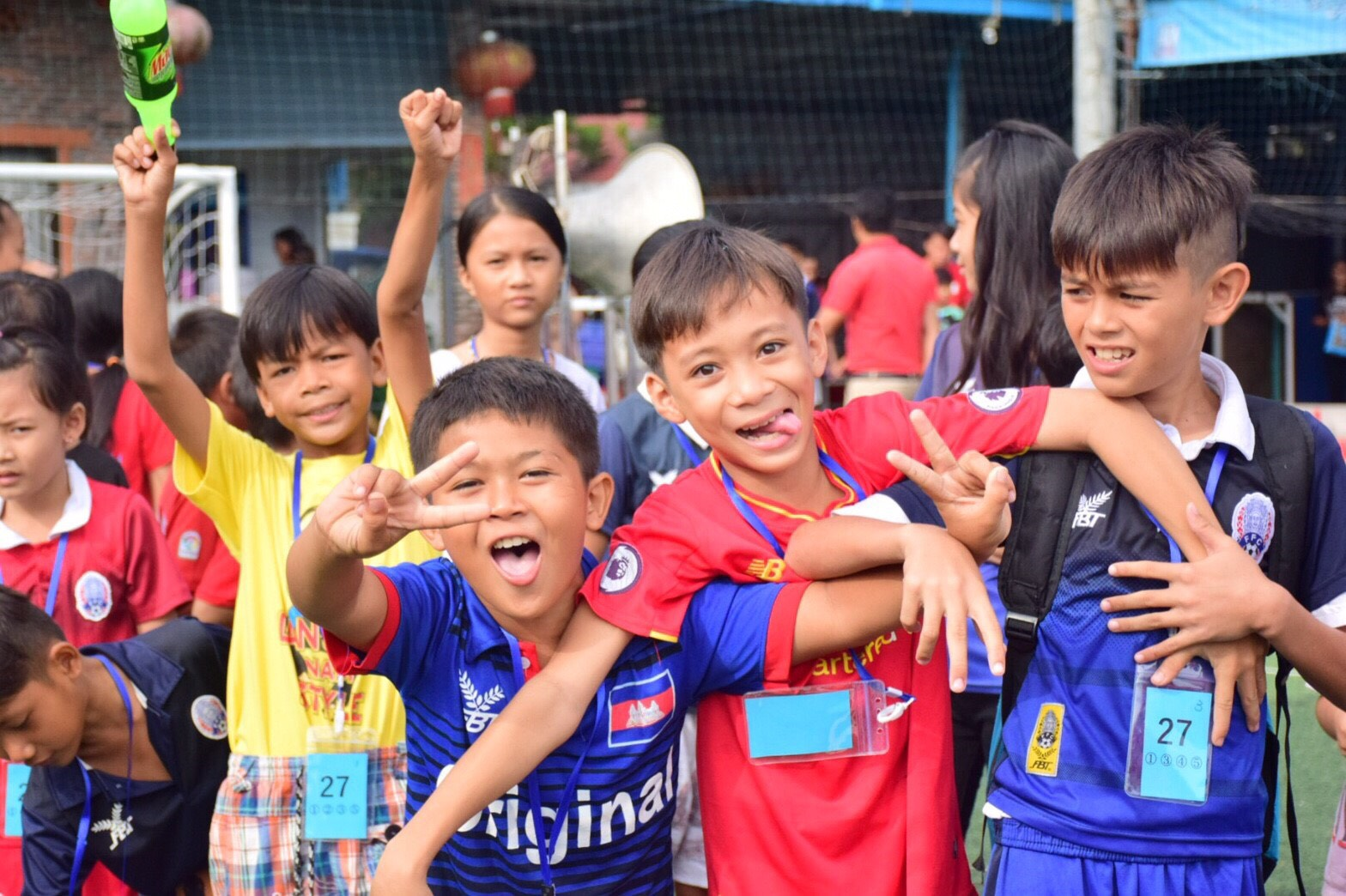 スポーツフェスティバル2017年夏 in プノンペン・カンボジア1
