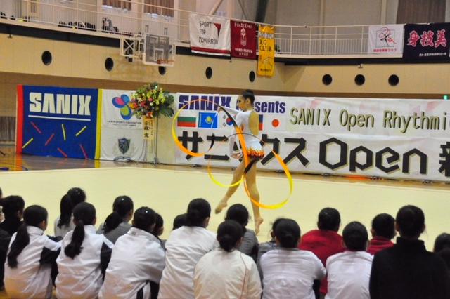 サニックス Open 新体操チーム選手権2