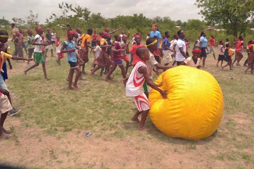 ガーナの子供達と一緒に運動会を作り上げよう!8日間2
