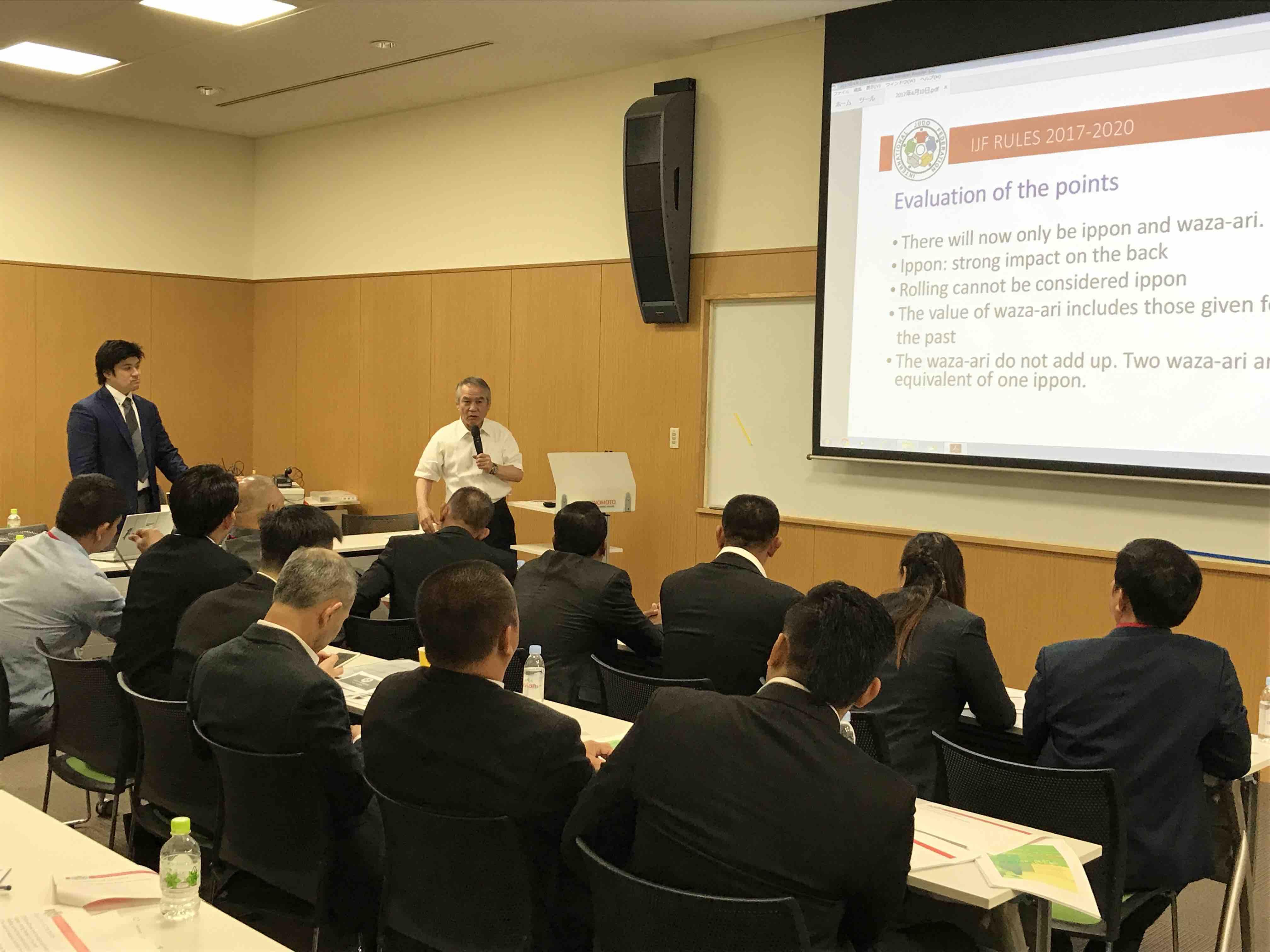 ASEAN 柔道審判・コーチ セミナー5