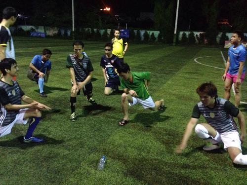 ラオスにおけるブラインドサッカーの基盤形成3