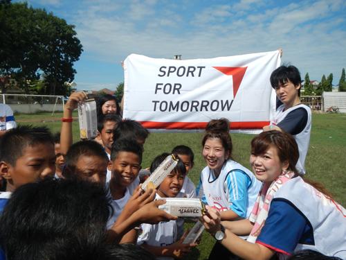カンボジアの知的障がい者と児童養護施設の児童とサッカーを楽しもう!2