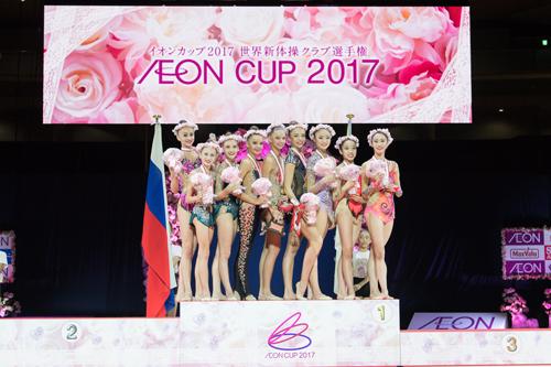 イオンカップ2017世界新体操クラブ選手権1