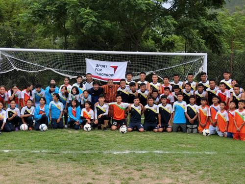 ブータンサッカーにおける普及活動3
