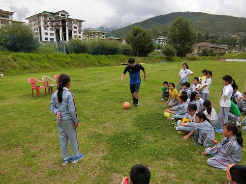 ブータンサッカーにおける普及活動4
