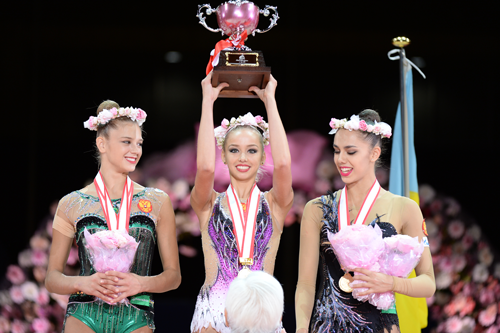 イオンカップ2016世界新体操クラブ選手権1
