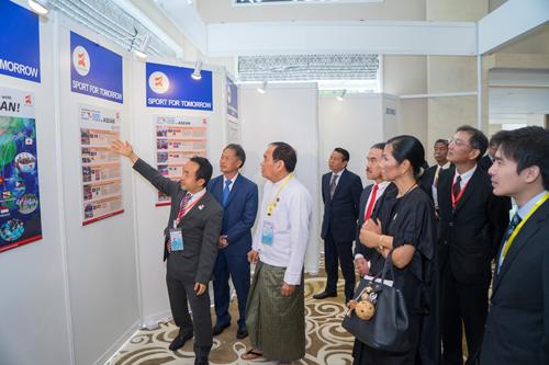 Japan Sports Showcase in Myanmar2