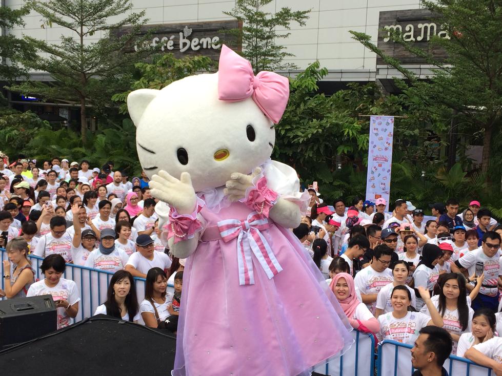Hello Kitty Run Indonesia 20172