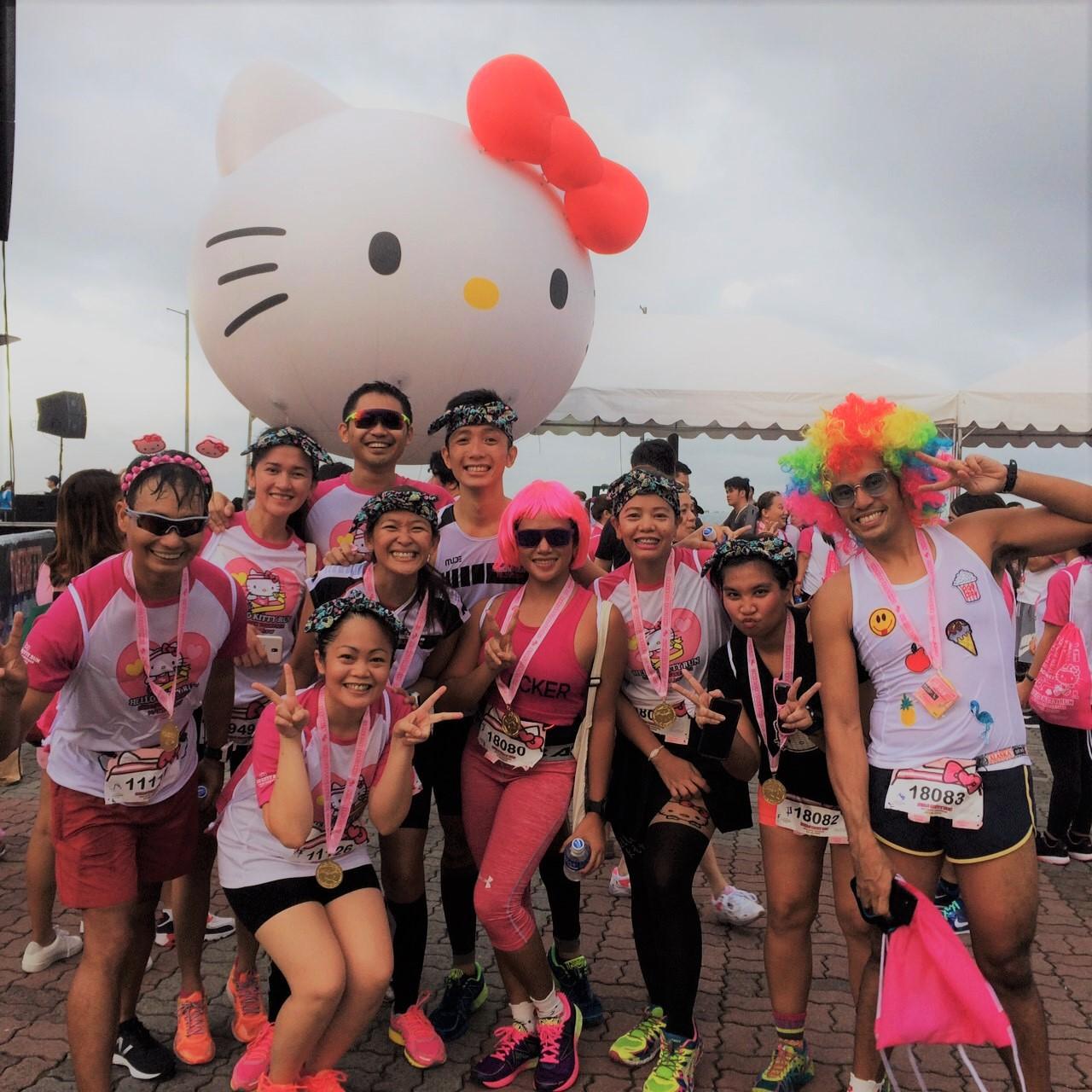 Hello Kitty Run Manila 20171