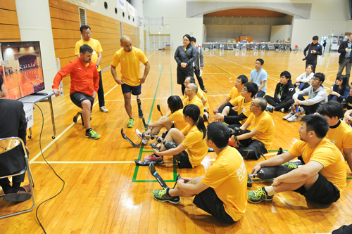 Running Clinic 2017 (Sports prosthetics experience workshop for amputees)3