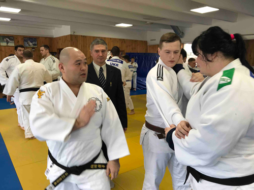 Dispatching Judo coaches as a 25th commemoration project of Japan-Ukraine diplomatic relationship5
