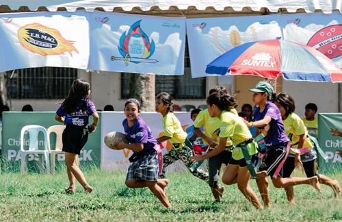パス・イット・バック ~タグラグビーで子どもの成長を支えるプロジェクト~1