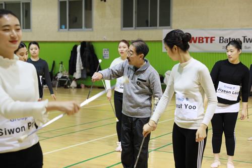 WBTFバトントワーリングクリニック in 大韓民国3