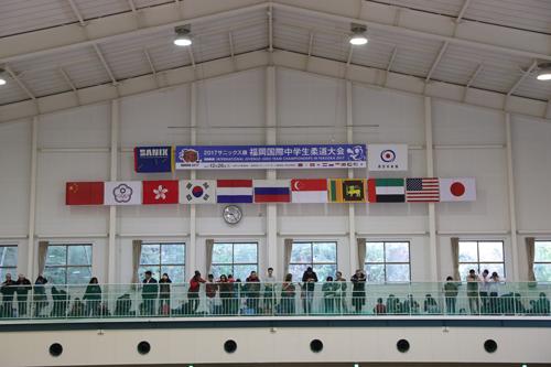 2017サニックス旗福岡国際中学生柔道大会(男子第15回目、女子第6回)3