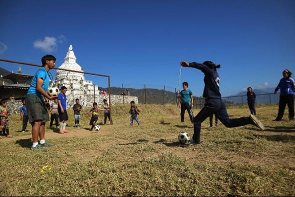 青年海外協力隊:Football Clinic in Eastern Bhutan1