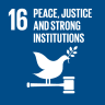 16. 平和と公平をすべての人に