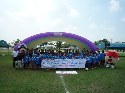 JDFA Town Visit in Ayutthaya1