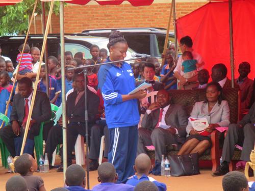 マラウイにおける「UNDOKAI」「ラジオ体操」の実施2