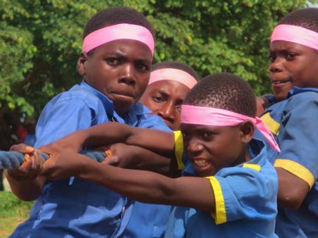 マラウイにおける「UNDOKAI」「ラジオ体操」の実施3