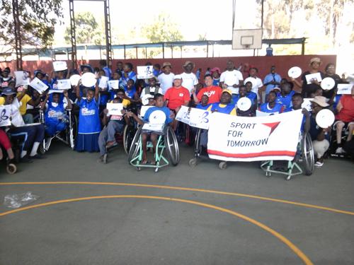 ジンバブエにおける障がい者スポーツ普及講習会2