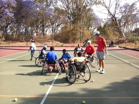 ジンバブエにおける障がい者スポーツ普及講習会3