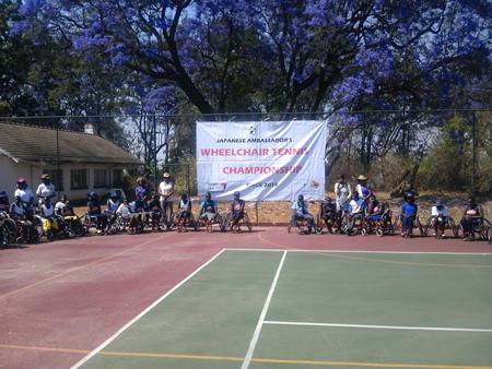 ジンバブエにおける障がい者スポーツ普及講習会4