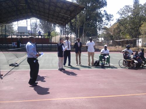 ジンバブエにおける障がい者スポーツ普及講習会5