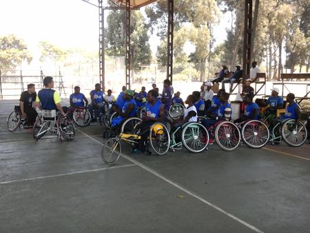 ジンバブエにおける障がい者スポーツ普及講習会6