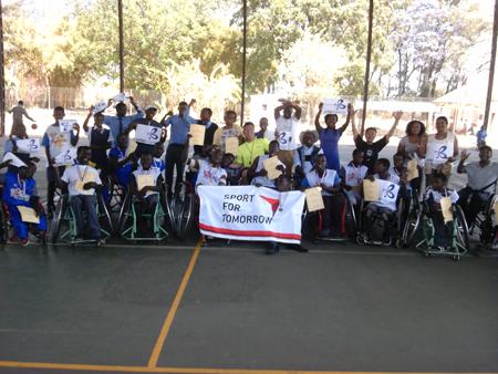 ジンバブエにおける障がい者スポーツ普及講習会7