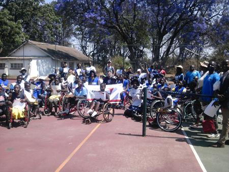 ジンバブエにおける障がい者スポーツ普及講習会8
