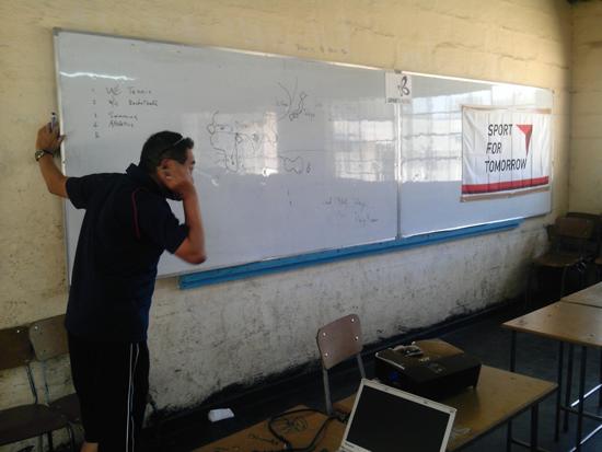 ジンバブエにおける障がい者スポーツ普及講習会9