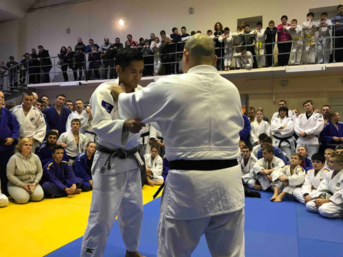 【Ukraine】Dispatching Judo coaches as a 25th commemoration project of Japan-Ukraine diplomatic relationship2