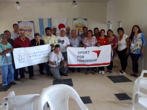 南米における日本で考案された共生型スポーツ普及支援事業2