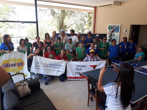 南米における日本で考案された共生型スポーツ普及支援事業4