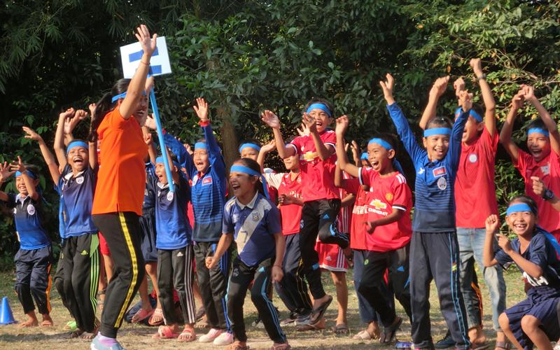 カンボジアにおける運動会・体育・スポーツ支援活動 (2017年度)2