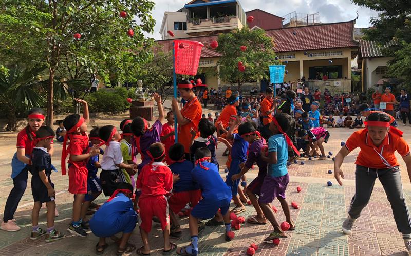 カンボジアにおける運動会・体育・スポーツ支援活動 (2017年度)4
