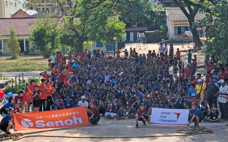 カンボジアにおける運動会・体育・スポーツ支援活動 (2017年度)3