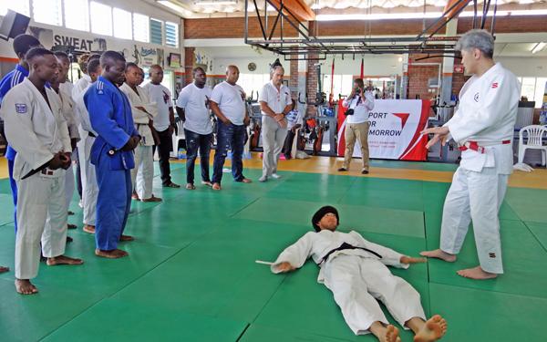ジンバブエにおける障がい者柔道の普及2