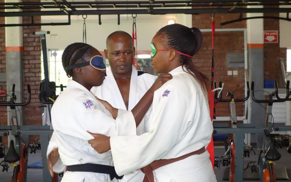 ジンバブエにおける障がい者柔道の普及4