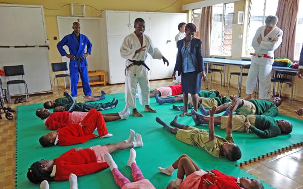ジンバブエにおける障がい者柔道の普及5