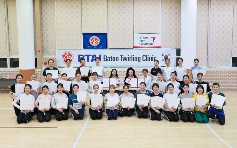 【South Korea】Promotion of Baton Twirling in South Korea #21