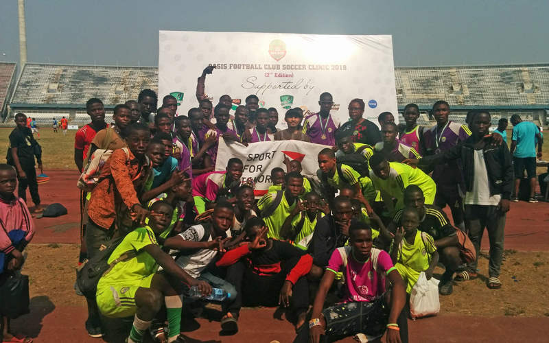 【Nigeria】Sporting Goods Donated to Nigeria Federal Ministry of Youth and Sports3