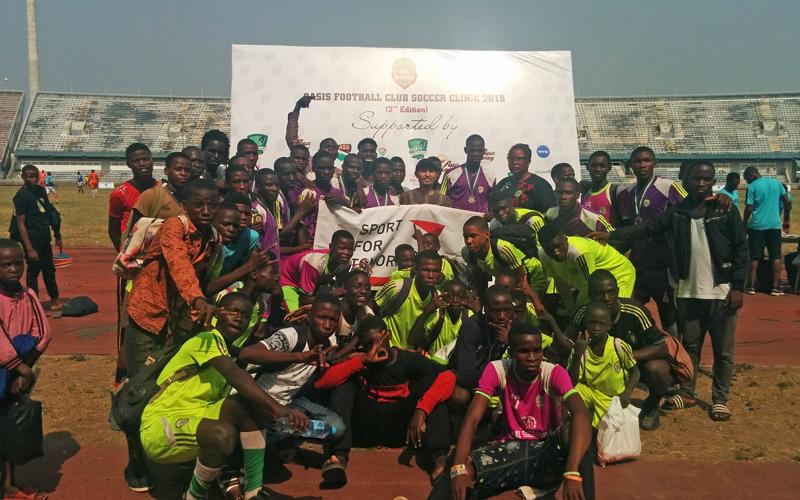 ナイジェリア連邦青年スポーツ省へのスポーツ用品寄贈式3