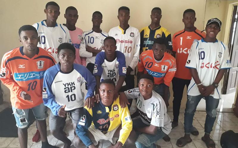 ナイジェリア連邦青年スポーツ省へのスポーツ用品寄贈式5